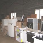 Récupération et stockage meubles